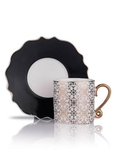 Schafer Stilvoll Kahve Fincan Tak. Siyah